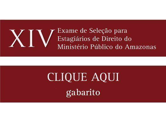 XIV Exame de Seleção de Estagiários de Direito